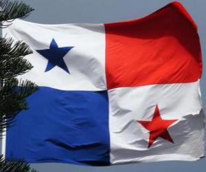 Puzzle de Bandera de Panamá