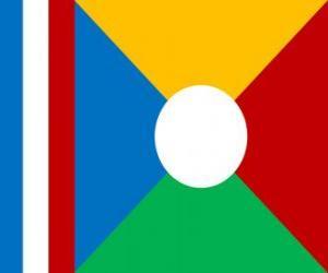 Puzzle de Bandera de Reunión