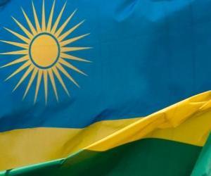 Puzzle de Bandera de Ruanda