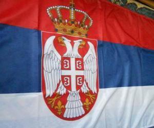 Puzzle de Bandera de Serbia