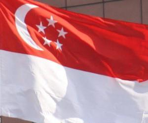 Puzzle de Bandera de Singapur