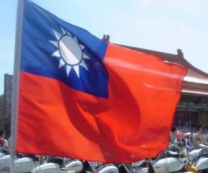 Puzzle de Bandera de Taiwán