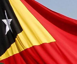 Puzzle de Bandera de Timor Oriental