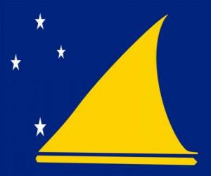 Puzzle de Bandera de Tokelau