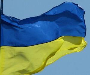 Puzzle de Bandera de Ucrania