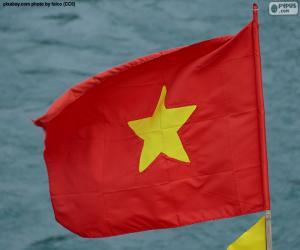 Puzzle de Bandera de Vietnam