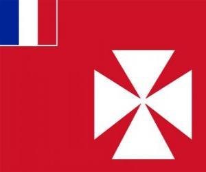 Puzzle de Bandera de Wallis y Futuna