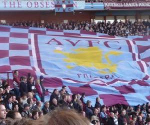Puzzle de Bandera del Aston Villa FC