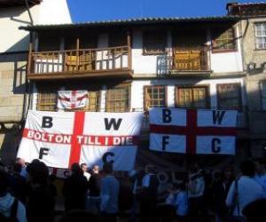 Puzzle de Bandera del Bolton Wanderers F.C.