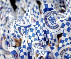 Puzzle de Bandera del Chelsea F.C.