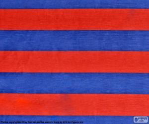 Puzzle de Bandera del F. C. Barcelona