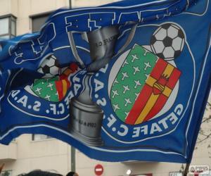 Puzzle de Bandera del Getafe C.F.