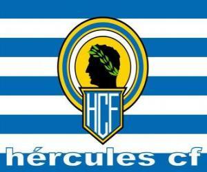 Puzzle de Bandera del Hércules Club de Fútbol