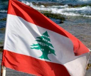 Puzzle de Bandera del Líbano