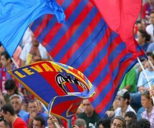 Puzzle de Bandera del Levante Unión Deportiva