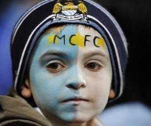 Puzzle de Bandera del Manchester City F.C.