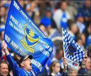 Puzzle de Bandera del Portsmouth F.C.