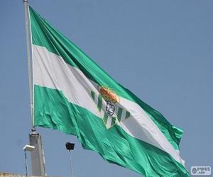 Puzzle de Bandera del Real Betis
