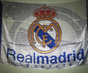 Puzzle de Bandera del Real Madrid