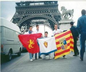 Puzzle de Bandera del Real Zaragoza