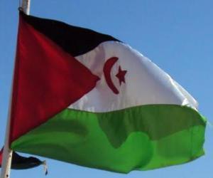 Puzzle de Bandera del Sahara Occidental
