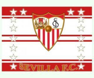 Puzzle de Bandera del Sevilla FC