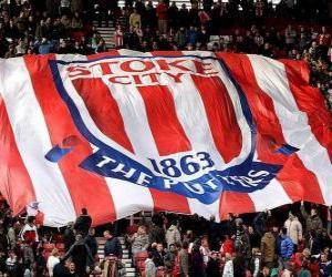 Puzzle de Bandera del Stoke City F.C.