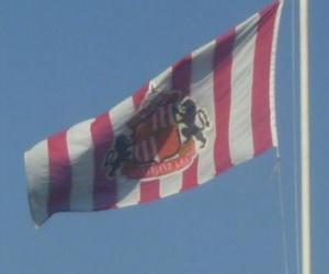 Puzzle de Bandera del Sunderland A.F.C.