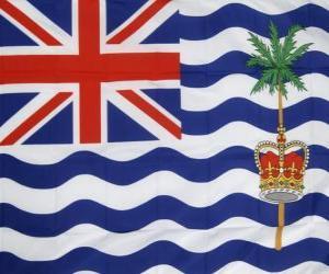 Puzzle de Bandera del Territorio Británico en el Océano Índico