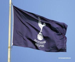 Puzzle de Bandera del Tottenham Hotspur F.C.