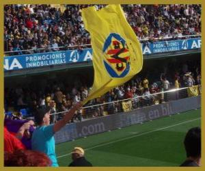 Puzzle de Bandera del Villarreal C.F.