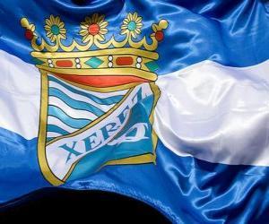 Puzzle de Bandera del Xerez C.D