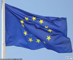 Puzzle de Bandera europea
