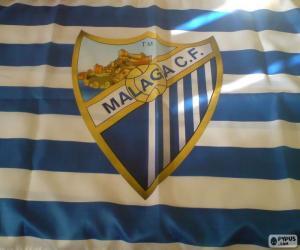 Puzzle de Bandera Málaga C.F