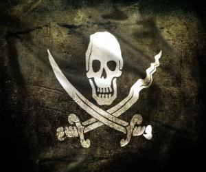 Puzzle de Bandera pirata