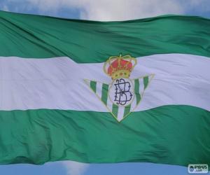 Puzzle de Bandera Real Betis