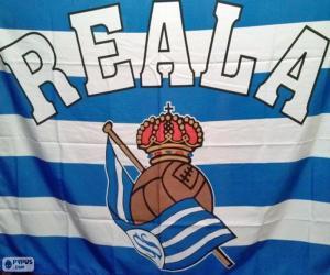 Puzzle de Bandera Real Sociedad