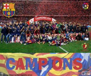 Puzzle de Barça, Copa del Rey 2015-16