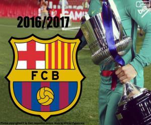 Puzzle de Barça, Copa del Rey 2016-17