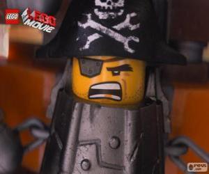 Puzzle de Barba Gris, Barba Metálica, un pirata que quiere vengarse de Lord Business