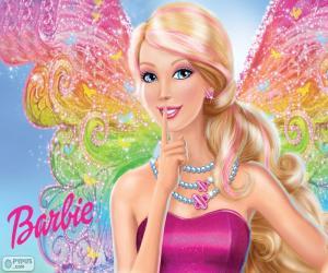 Puzzle de Barbie en un secreto de hadas
