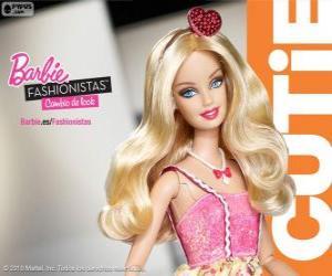 Puzzle de Barbie Fashionista Cutie