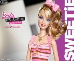 Puzzle de Barbie Fashionista Sweetie
