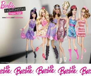 Puzzle de Barbie FASHIONISTAS