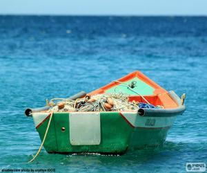 Puzzle de Barca de pescadores