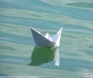 Puzzle de Barco de papel