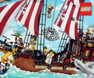 Puzzle de Barco pirata de Lego
