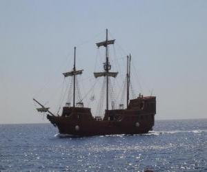 Puzzle de Barco pirata