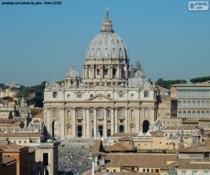 Puzzle de Basílica de San Pedro, Vaticano