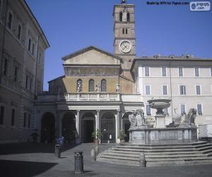Puzzle de Basílica de Santa María en Trastevere, Roma